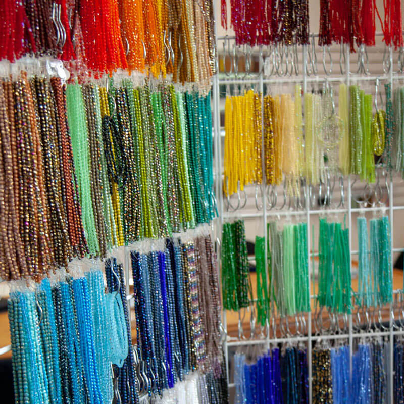 Faceted Strands - jewelry making supplies Austin